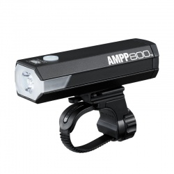 Cateye AMPP8500 front light - rechargeable - stock image