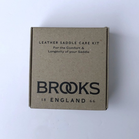 Brooks Leather Saddle Care Kit - outside of packaging