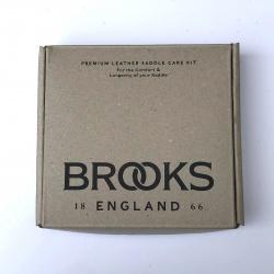 Brooks Premium Leather Saddle Care Kit - box