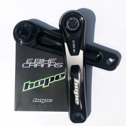 Hope Black 165mm E-Bike Cranks - Specialized Offset - Contents