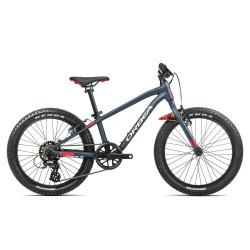 Orbea MX20 Dirt Kids mountain bike 2021 - Blue & Red - Side on