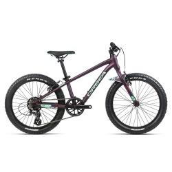 Orbea MX20 Dirt Kids mountain bike 2021 - Purple & Mint - Side on