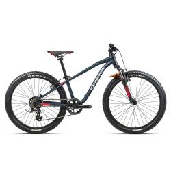 Orbea MX24 XC Kids mountain bike 2021 - Blue & Red - Side on