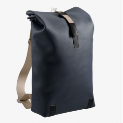 Brooks Pickwick Backpack in Dark Blue - 26L - stock image front view