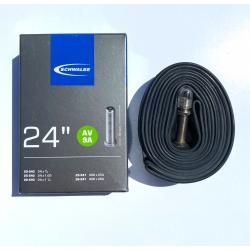 "Inner tube 24 x 3/4 - 1 1/8"" by Schwalbe - AV9A - Schrader valve"