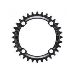 Hope 34T Shimano 12-speed retainer ring - Black - stock photo