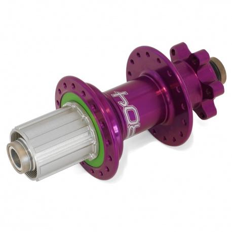 Hope Pro 4 Rear hub 32H 150mm 12mm - Purple - Shimano All freehub - Stock photo