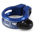 Hope dropper seat post clamp - 34.9mm - Blue