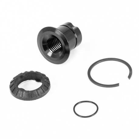 Rear Axle Pivot Kit for Orbea Occa ,Wild FS and Rise - stock image