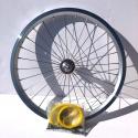 Brompton extra light 16 inch front wheel