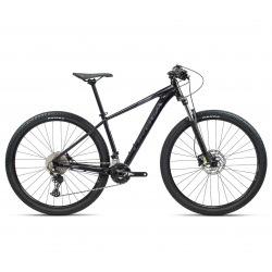 Orbea MX 30 mountain bike - Large - Black/Grey - Stock Image