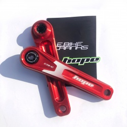 Hope RED 165mm E-Bike Cranks - Specialized Offset - Contents