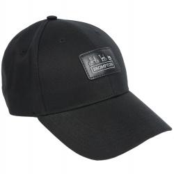 Brompton LC Baseball Cap - Black - stock image
