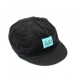 Brompton Logo Collection Cap - Black/Turkish Green