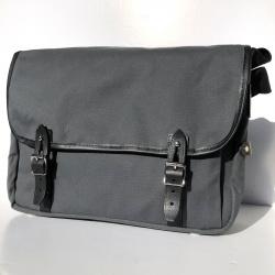 Brompton Game bag, Smoke Grey - Front on