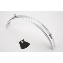 Brompton rear mudguard for bikes with a rack