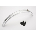 Brompton rear mudguard for bikes with a rack (with cut-out)