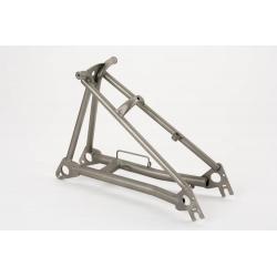 Brompton rear frame assembly - TITANIUM