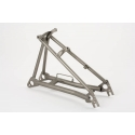 Brompton rear frame assembly - TITANIUM