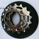 Brompton rear sprockets and spacers